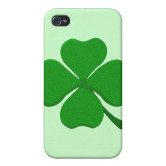 Four Leaf Clover - Irish Shamrock Cases For iPhone 4