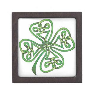 Four-Leaf Clover Jewelry Box