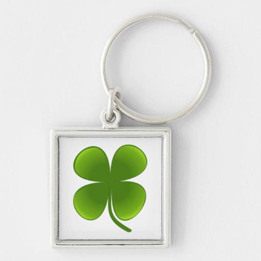 Four-Leaf Clover -  Keychain