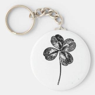 four-leaf clover keychain