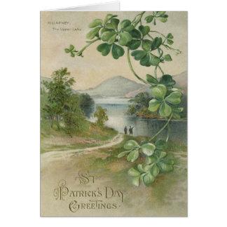 Four Leaf Clover Killarney Mountain Card