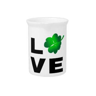 Four Leaf Clover - Love Pitcher