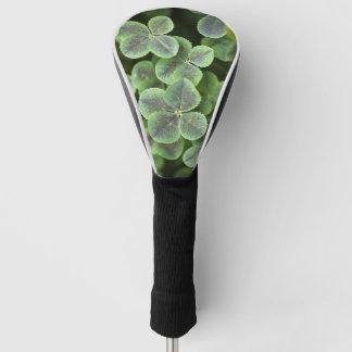 Four Leaf Clover Lucky Driver Golf Head Cover