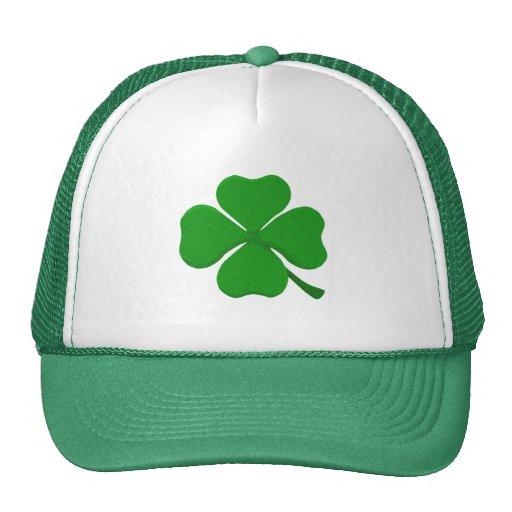 Four Leaf Clover Mesh Hat