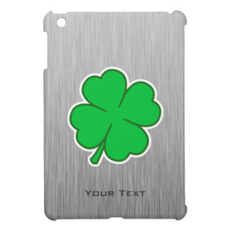 Four Leaf Clover; metal-look Cover For The iPad Mini