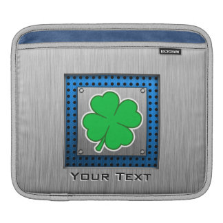 Four Leaf Clover; metal-look Sleeves For iPads