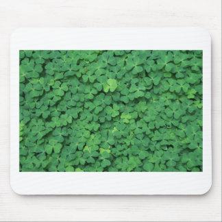 Four Leaf Clover Mouse Pad