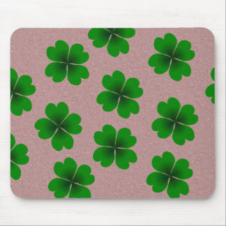 four-leaf clover mouse pads