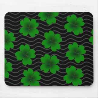 four-leaf clover mouse pad