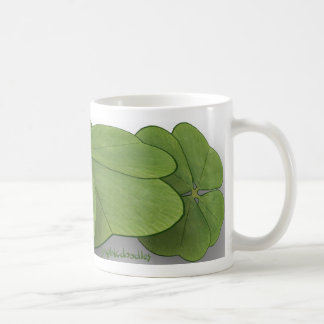Four leaf clover mugs