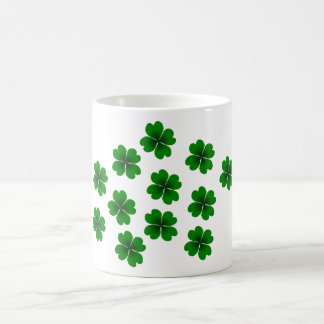 four-leaf clover mugs