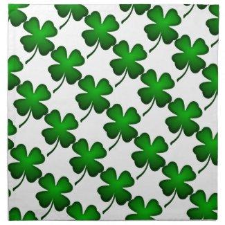Four Leaf Clover Napkins