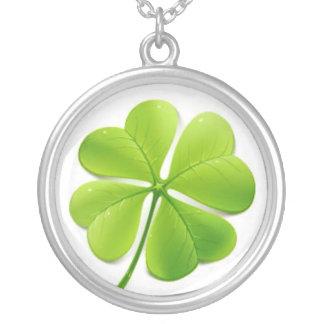 four leaf clover necklaces