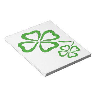 Four Leaf Clover Notepad