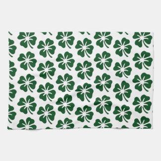Four Leaf Clover Pattern Towels