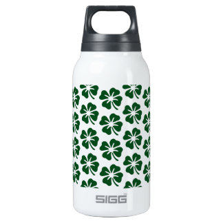 Four Leaf Clover Pattern Thermos Water Bottle