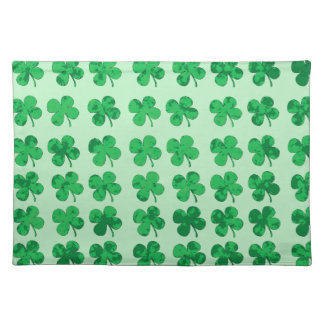 Four-leaf clover placemat