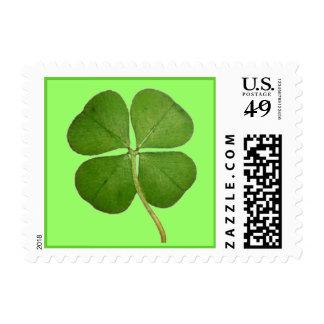 Four Leaf Clover Postage
