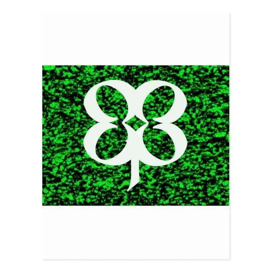 Four Leaf Clover Postcard