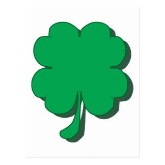 Four-Leaf-Clover Postcard