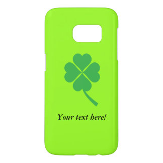 Four-leaf clover samsung galaxy s7 case