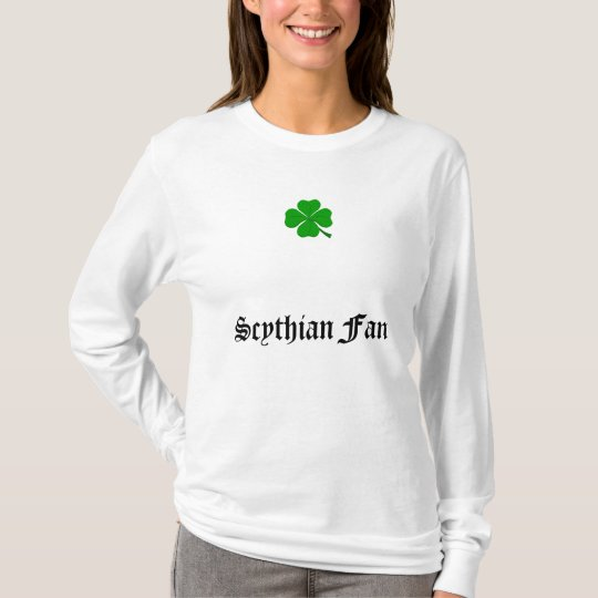 four-leaf-clover, Scythian Fan T-Shirt