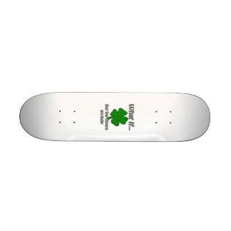 Four Leaf Clover Skate Board Decks