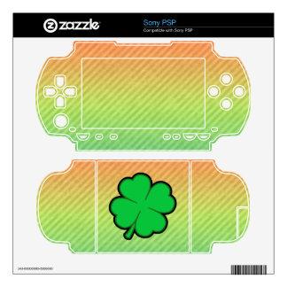 Four Leaf Clover Decal For The Sony PSP