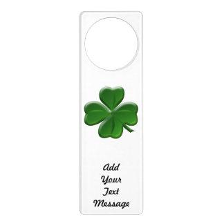 Four Leaf Clover - St Patrick's Day Button Door Hanger