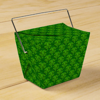 Four Leaf Clover-Take Out Favor Box