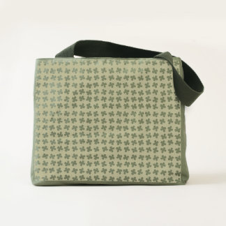 Four-leaf clover tote
