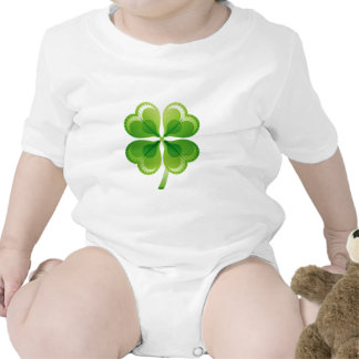 FOUR LEAF CLOVER ROMPERS