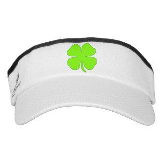 Four leaf clover visor