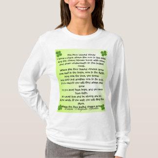 four leaf clover womens hoodie