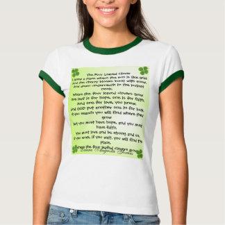 four leaf clover womens shirt