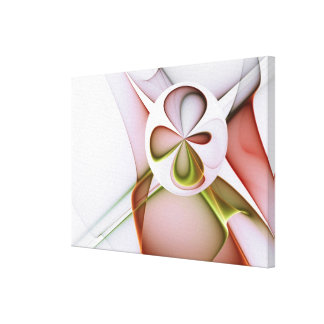 Four-leaf Clover (Wrapped Canvas) Canvas Print