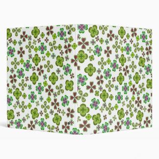 Four Leaf Clovers Avery Binder