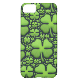 Four Leaf Clovers iPhone 5C Cover