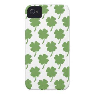 Four Leaf Clovers iPhone 4 Case