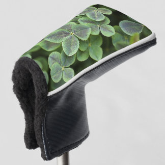 Four Leaf Clovers Lucky Putter Golf Head Cover