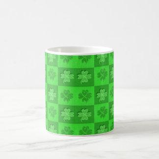 Four-Leaf Irish Clovers Coffee Mug