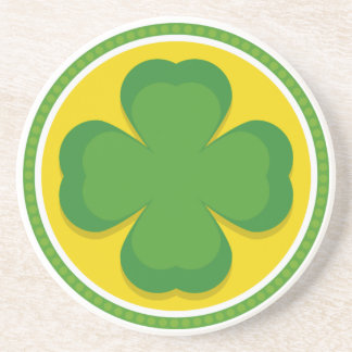 Four Leafed Clover Coaster