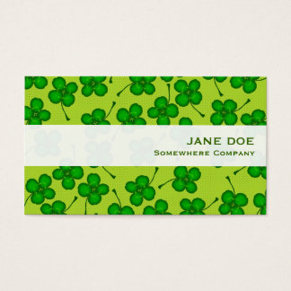 Four Leafs Clover Business Card