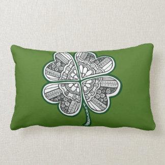 Four Leave Clover 1 Lumbar Pillow