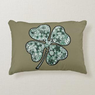 Four Leave Clover 2 Decorative Pillow