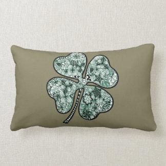 Four Leave Clover 2 Lumbar Pillow