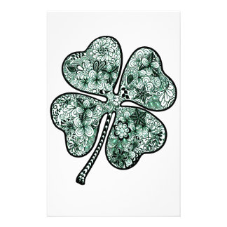 Four Leave Clover 2 Stationery