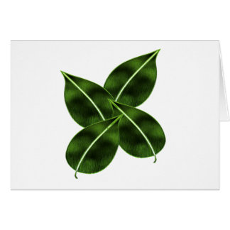 Four Leaves Card