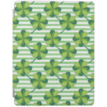 Four Leaves Clover St. Patrick's Day Pattern iPad Smart Cover