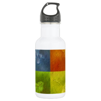 Four Leaves for Four Seasons Stainless Steel Water Bottle